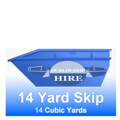Industrial 14 Yard Skip - Order Now From €395.00