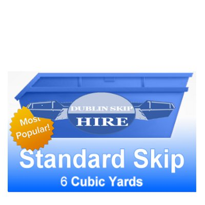 Standard Skip 6yd Capacity - Order Now From €295.00