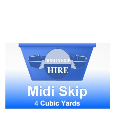 Midi Skip 4yd Capacity - Order Now From €195.00