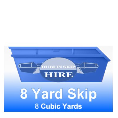 Maxi Skip 8yd Capacity - Order Now From €320.00