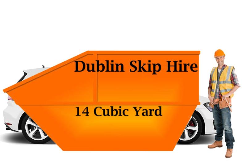 photo of skip hire north dublin